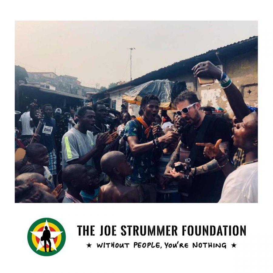 Frank Turner & Joe Strummer Foundation project in Sierra Leone
